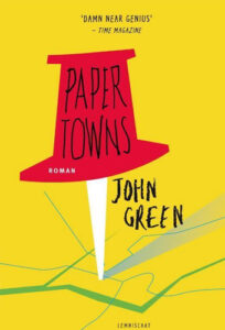 Paper Towns - cover