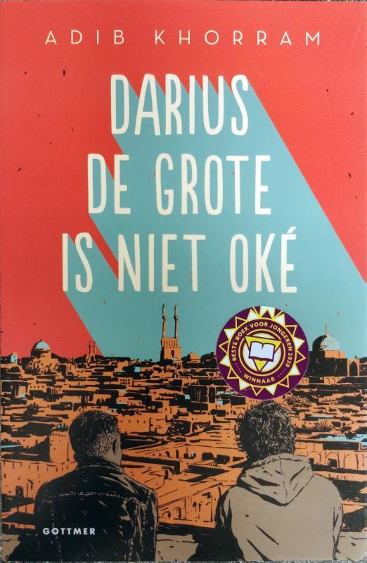 Darius de Grote is niet oke voorkant